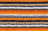 Striped knitted background — Stock Photo