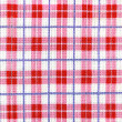 Checkered dishcloth background — Stock Photo