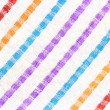 Abstract background with striped fabric — Stock Photo