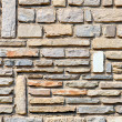 Abstract background with stone wall — 图库照片