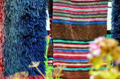 Woolen blankets — Stock Photo