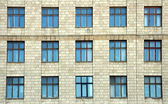 Budova s windows — Stock fotografie