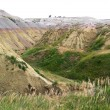 Badlands — Stockfoto