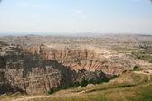Landscape of Badlands — Stock Photo