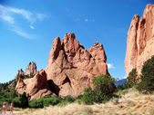 """Garden of the Gods"" National park — Stock Photo"