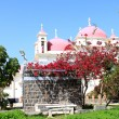 Greek Orthodox Church in Capernaum - Stock Photo