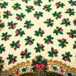 Ornamented Fabric as a Background — Stock Photo