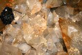Křemenné krystaly — Stock fotografie
