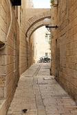 The Street in Jerusalem — Stock Photo