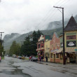 Stock Photo: Skagway City in Alaska