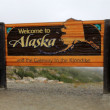 Welcome to Alaska — Stock Photo #26186483