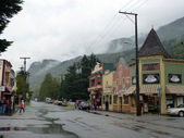 Skagway City in Alaska — Stock Photo
