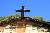 Cross of Church of Saint Dimitrios — Stock Photo