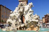 Fontana dei quattro fiumi — Foto Stock