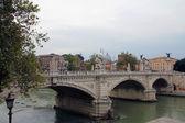 Bridge of Vittorio Emmanuele — Stock Photo