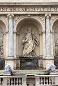 摩西的雕塑 — 图库照片