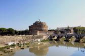 Castle of Sant Angelo and bridge — Stock Photo