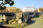 Bridge in Rome, Italy — ストック写真