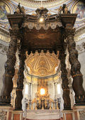 Cattedra Altar of St Peter's Basilica — Stock Photo