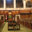 Interior of House of Commons — Stock Photo #41340797