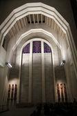 Interior of Saint Josef  Oratory of Mount Royal in Montreal, Canada — Foto de Stock