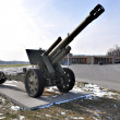 Heavy howitzer - Stock Photo
