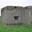 Concrete bunker - Stock Photo