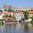 Prague royal castle - Stock Photo