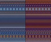 Nordische traditionelle gestrickte muster — Stockfoto