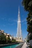 UAE, Dubai, Burj Khalifa tower — Stock Photo