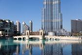 DUBAI: Burj Khalifa — 图库照片