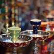 Hookah in souvenir shop — Stock Photo