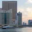 DUBAI, UAE : Modern buildings in Dubai Marina, Dubai, UAE — Stock Photo