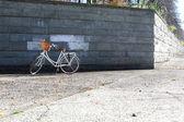 Retro cykel — Stockfoto