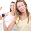 Women at gym — Stock Photo #38721147