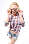 Fashionable spectacle frames — Stock Photo