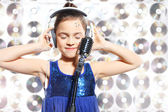 Talented child — Stock Photo