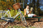 Sonbahar gevşeme — Stok fotoğraf