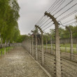 German Nazi concentration camp Auschwitz-Birkenau in Poland — Stock Photo