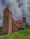 Medieval castle in Kwidzyn - Poland — Stock Photo
