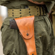 Gun in holster — Stock Photo #35724499