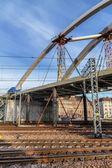 Bouw van een brug — Stockfoto