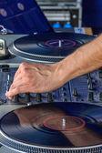 Making music mixer — Stock Photo