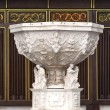 Baptistery decorated — Stock Photo #38894131