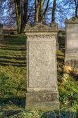 Mennonite cemetery — Stock Photo