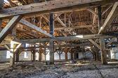 Die verlassene fabrik — Stockfoto