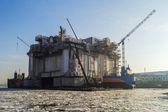 Repair of drilling rig — Stock Photo
