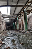 The abandoned factory — 图库照片