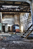 The abandoned factory — Stock Photo