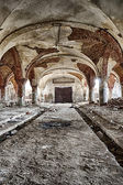The abandoned stables — Stock Photo